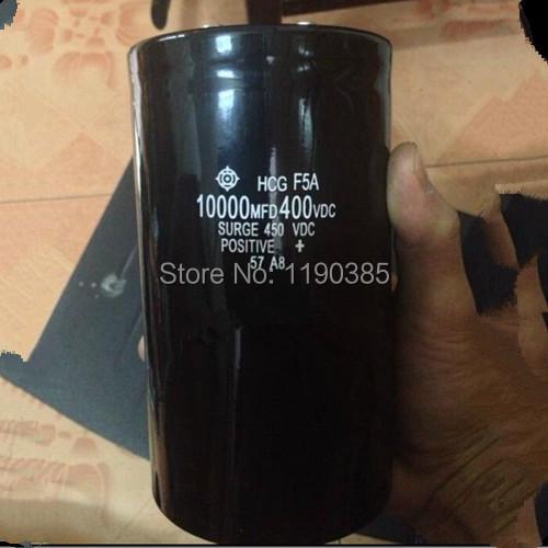 Aluminum electrolytic capacitor 10000UF 400V 75*195 75mm*195mm capacitor New and original capacitance Integrated circuit(China (Mainland))