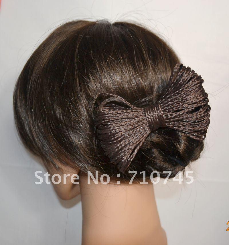 NEW Free Shipping Hot Pretty Girl Plait Braided Hair Head Band Braid Headband Hair Extension Blonde/Brown/Black hairpin(China (Mainland))