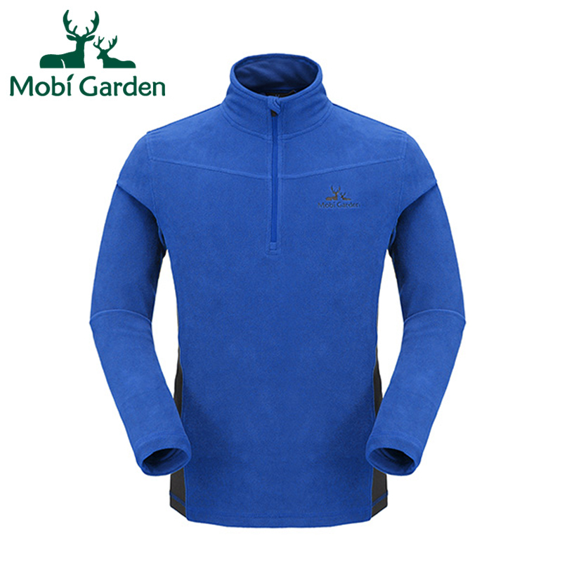 Mobi Garden Outdoor Camping Hiking Winter Keep Warm Fahion Fleece Jacket For Men Sport Jackets For Couples ZMB1311027 MWK086