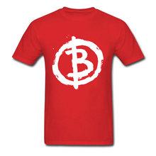 到着アナーキスト男性黒の Tシャツ、白文字 B プリント半袖トップス & Tシャツコットン服サイズ L(China)