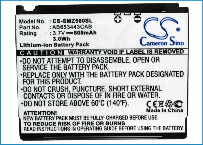 Battery For SAMSUNG For For Behold SGH-T919, T919, For Eternity II, SGH-T404g, SGH-T469, SGH-T819, SGH-T919, etc(China (Mainland))