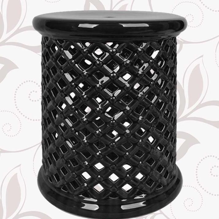 New Design Indoor Ceramic Antique Drum Porcelain Garden