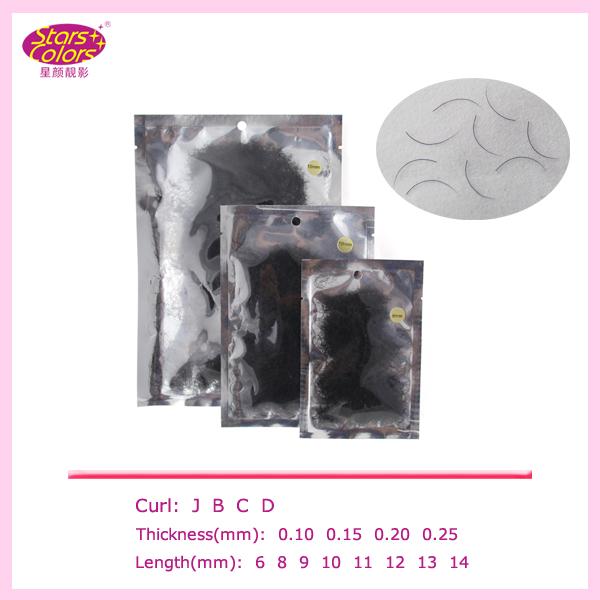 OEM Different length false lashes cheap individual fake eyelashes in bulk Loose pakaging various size false individual lashes(China (Mainland))