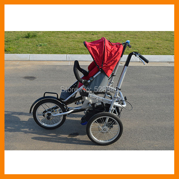 Steel frame fully folding taga stroller bike baby bike(China (Mainland))