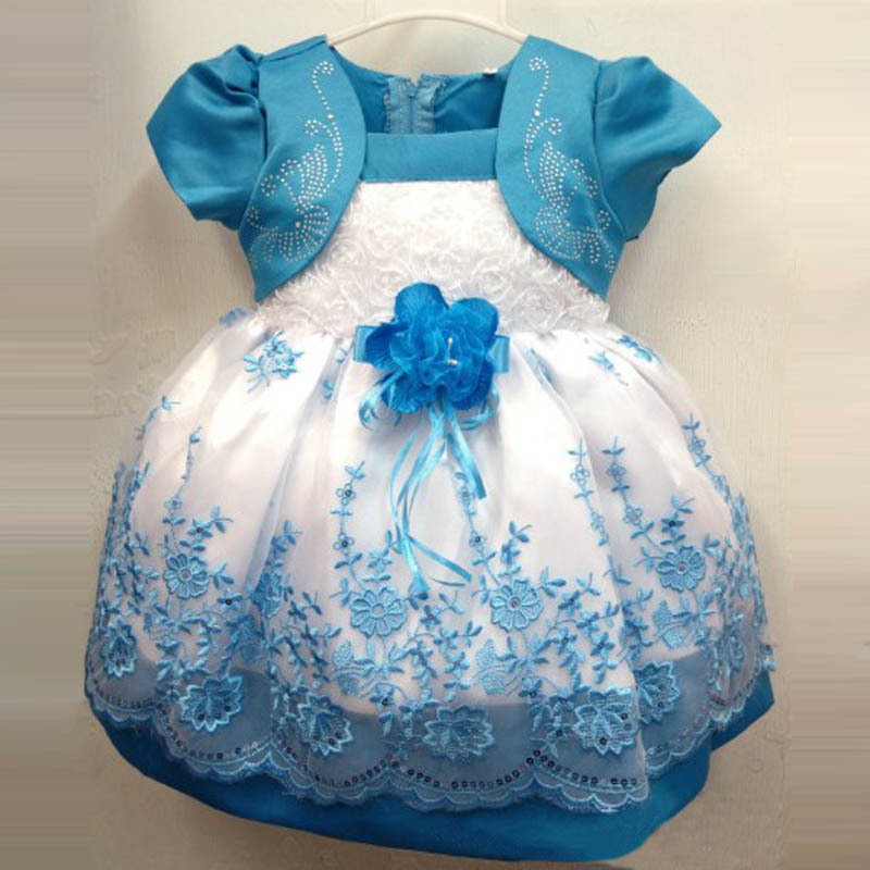 2014 Summer New Korean Cute Girls Dress Flower Print Sweet Princess Kids Girl Children Dress Christmas Gift #KS0080(China (Mainland))