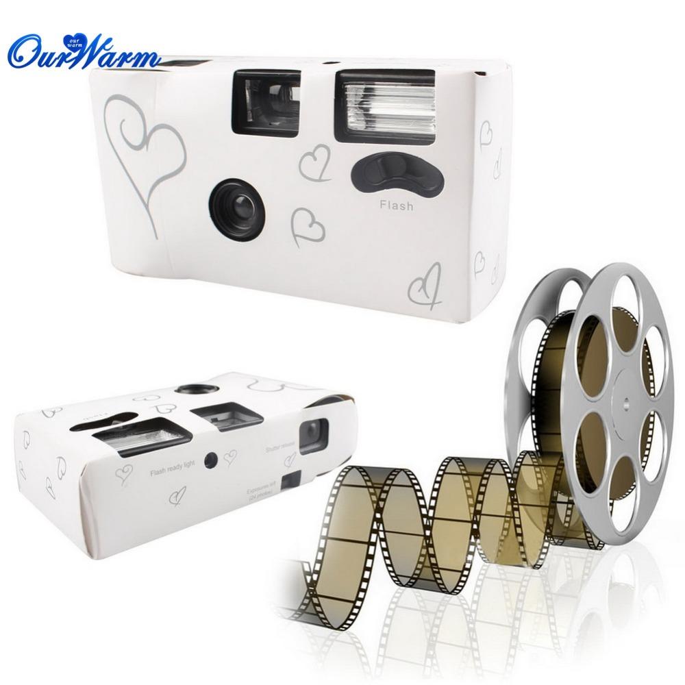 Hearts Disposable Camera 36 Photos for Wedding Party Supply(China (Mainland))