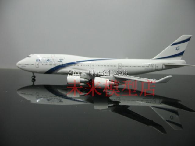 Бесплатная Доставка!1:500 Эль Аль Израиль Airlinesaircraft модель модель модель самолета Боинг-747 авиакомпании