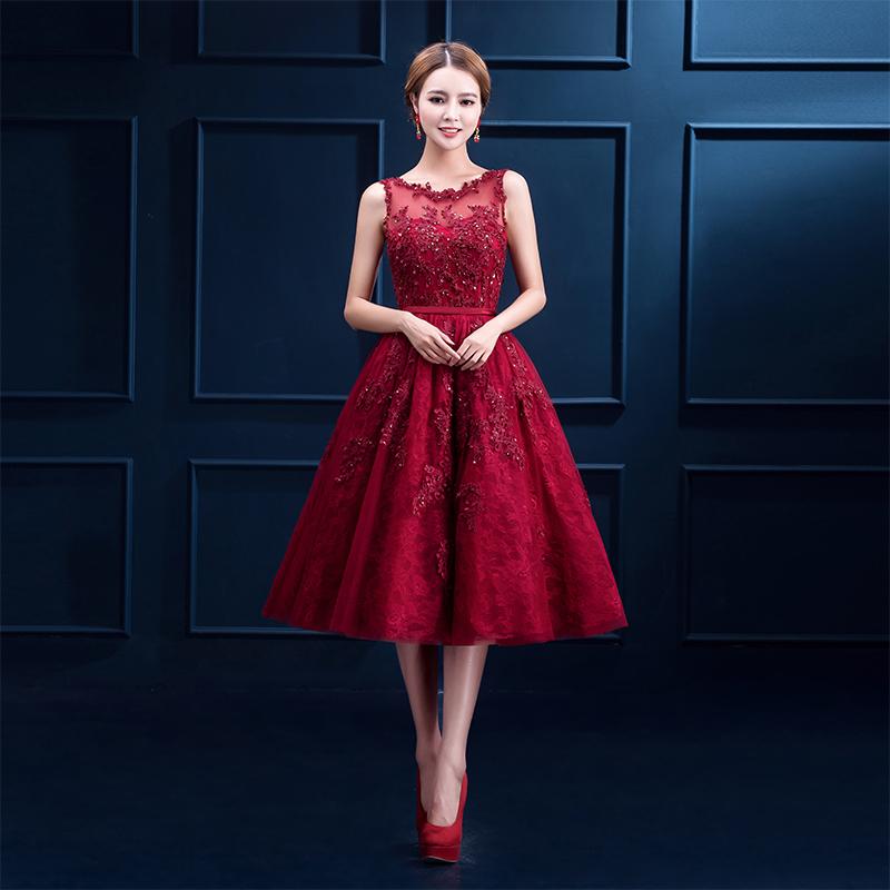 Платья средней длины 2017