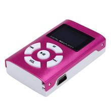 Hermoso regalo 100% a estrenar 2016 Mini USB MP3 del LCD del jugador de la ayuda 32 GB Micro SD TF envío gratis Dec08