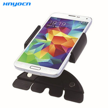 Universal Auto Car CD Slot Phone Holder Adjustable Cell Mobile Holders Iphone 6 Samsung - xnyocn shopping plaza store