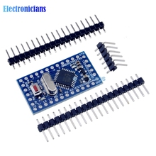 Free Shipping Pro Mini atmega328 Mini ATMEGA328P 5V 16MHz Module With Crystal Oscillator Pins Replace ATMEGA128 for Arduino Nano(China (Mainland))