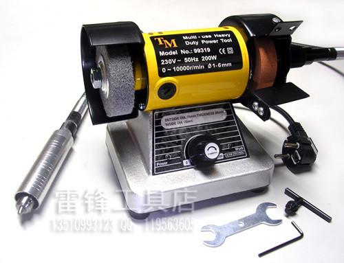 Multi function micro grinding machine speed grinding machine engraving machine bench grinders with 4MM universal clamp(China (Mainland))