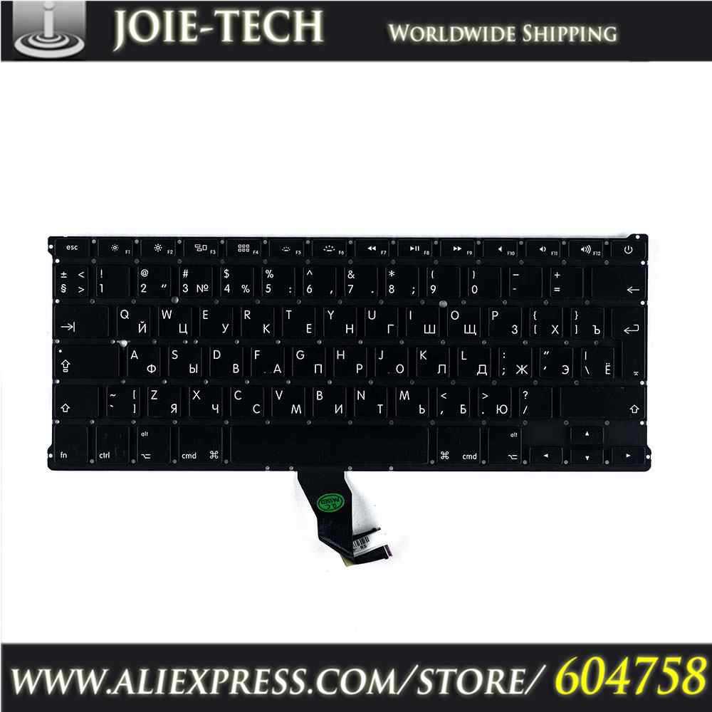 MC504 13'' russian keyboard For Apple MacBook Air A1369 RU laptop keyboard(China (Mainland))