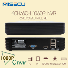 New 4Ch  8Ch Mini NVR Full HD real P2P Standalone CCTV NVR 1920*1080P ONVIF 2.0 For IP Camera Security System For 1080P Camera(China (Mainland))