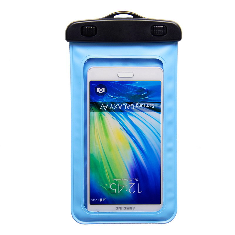 5.0To6.0 inch Waterproof Underwater Bag Case Pouch Universal Durable Bag For Mobile Phone For Elephone P8000 With Armband