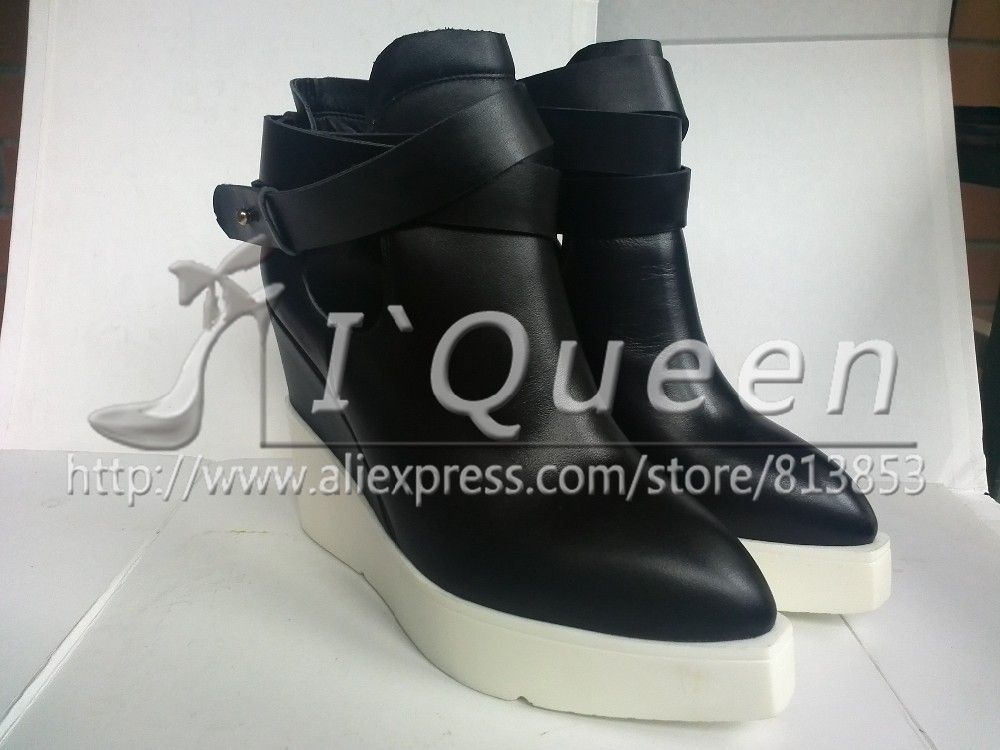 2015 Top Quality Women Ankle Boots Genuine Leather Boots Fashion