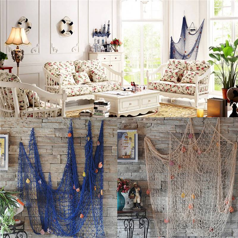 Online buy wholesale nautical decor from china nautical for Cheap beach decorations for the home