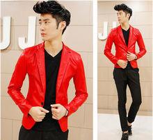 popular red blazers for men