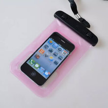 New Style PVC Waterproof Phone Case Underwater Pouch Phone Bag cover For iphone 4 4S 5 5S 5C All mobile Phone Watch
