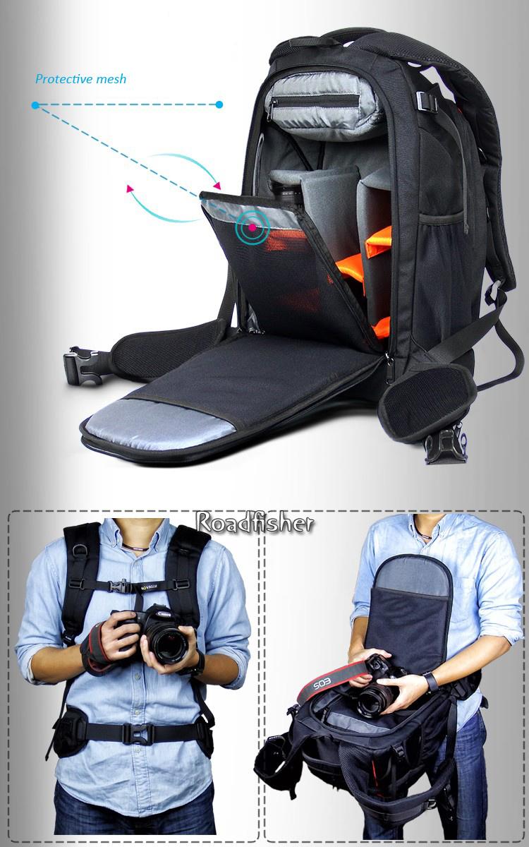 Camera backpack bag 2