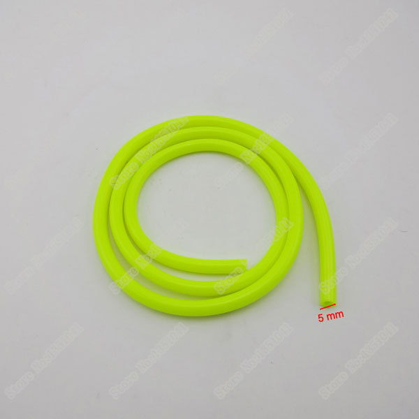 "Motorcycle Yellow 1/4"" 6mm Fuel Line Hose Tube For 50cc 110cc 125cc 150cc 250cc Honda Yamaha Pit Dirt bike Motocross ATV Quads(China (Mainland))"