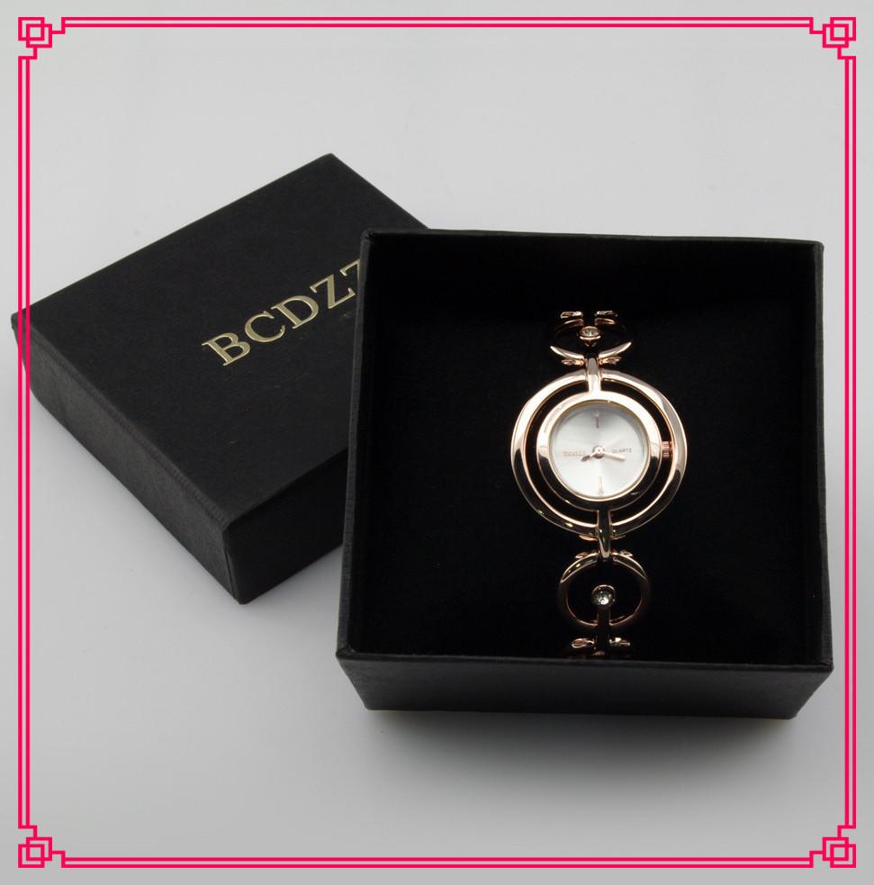 Wholesale 3 Colors Elegant Partysu Quartz Wrist Watches Fashion Women Girl Chic Fashion Ring Bracelet Wristwatches for Ladies(China (Mainland))