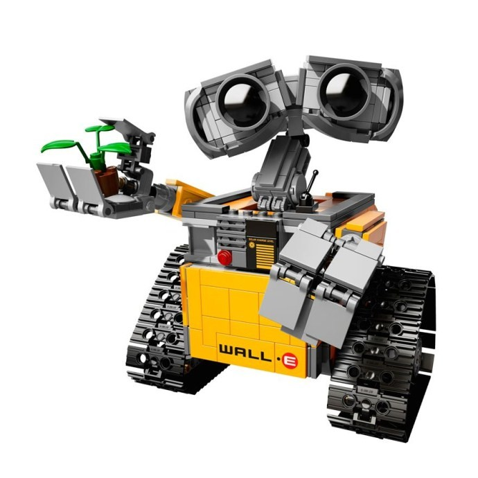 New LEPIN 687Pcs Idea Robot WALL E Model Building Kits Minifigure Blocks Bricks Children Toys Compatible With Legoe(China (Mainland))