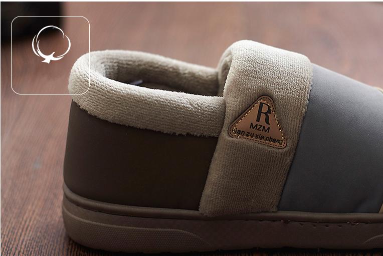 ซื้อ 2016ใหม่มาถึงแฟชั่นฤดูหนาวที่อบอุ่นรองเท้าแตะบ้านผู้หญิงและผู้ชายผ้าฝ้ายตุ๊กตาบ้านอบอุ่นP Lushผู้ชายรองเท้าแตะผู้ชายรองเท้าแบรนด์