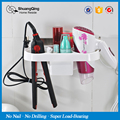 Free shipping plastic storage rack holder kitchen rack bathroom wall storage rack Electric hair plywood comb