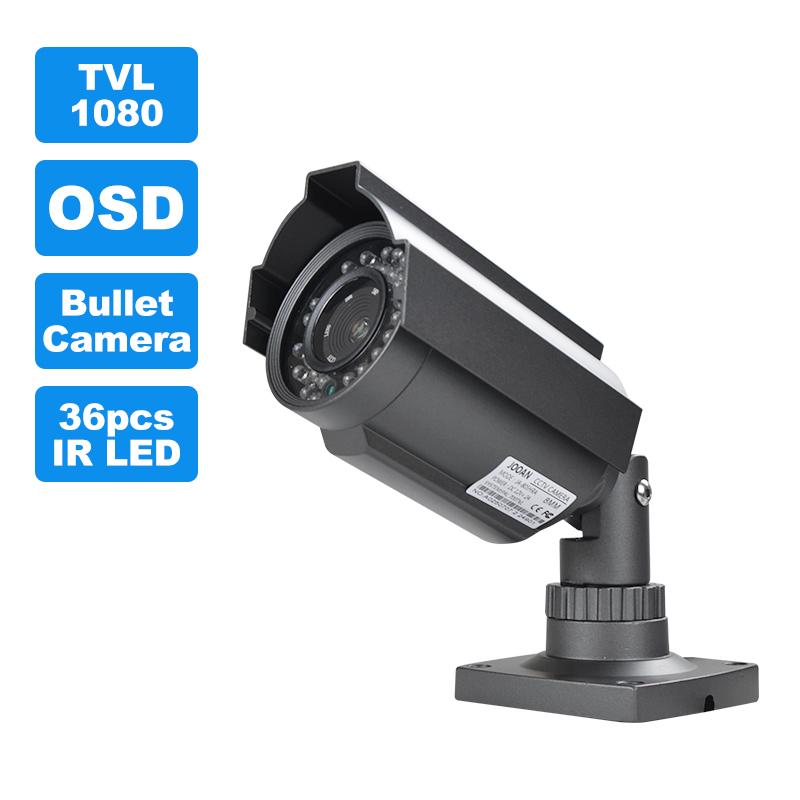 JOOAN Security Camera Sony Effio Ccd 1080tvl 36pcs IR LED HD Night Vision Infrared Laser Cctv Camera Outdoor Video Surveillance(China (Mainland))