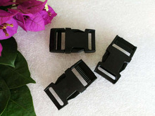 Buy 100pcs/lot 15mm black POM Clip Buckles plastic buckles side release paracord buckles backpack webbing strap free for $9.03 in AliExpress store