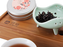 puer Mini Round Box puer Different Taste Rose Fragrance Bowl of pu erh tea Authentic Chinese