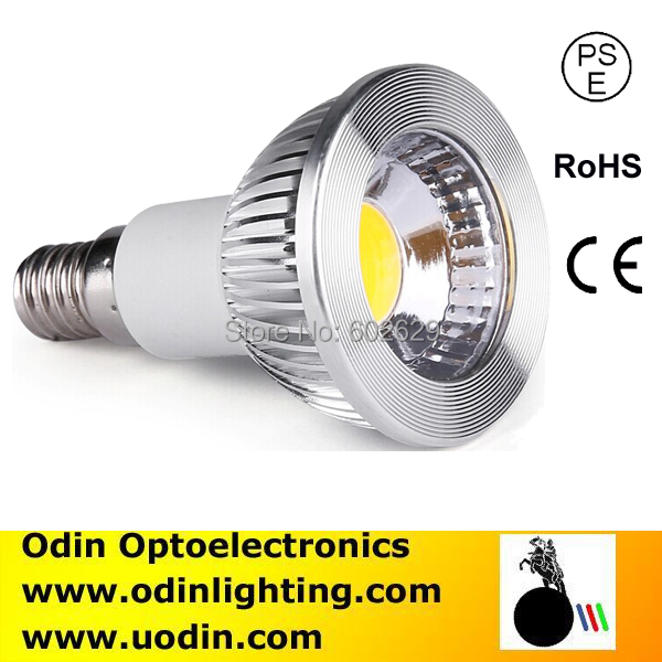 New arrival E17 E11 led spot bulb 6w 600lm dimmable PSE list Odinlighting(China (Mainland))