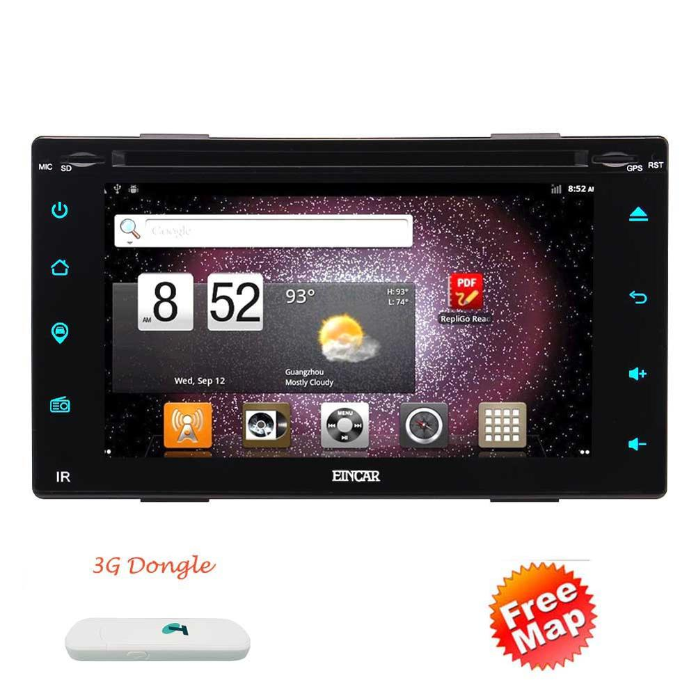 3G Android 6.0 Car DVD Player 2Din GPS Navigation 2DIN Car Stereo In Dash Bluetooth headunit Vehicle Radio Receiver WiFi SWC+3G