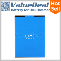 Original Brand New 2250mah Celular Rechargeable Lithium-ion Battery For Umi Hammer Smartphone
