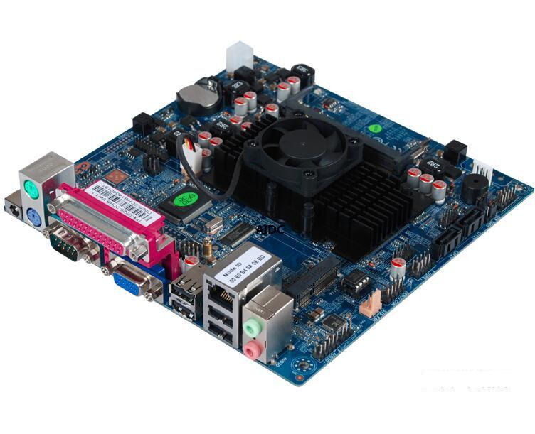 For intel ATOM DC 12V motherboard Atom D525 dual-core industrial motherboard cash register 1037U Motherboard(China (Mainland))