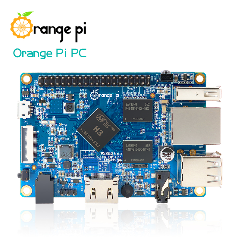 Best Seller Orange Pi PC Support the Lubuntu linux and android mini PC Beyond Raspberry Pi 2 Wholesale is available(China (Mainland))