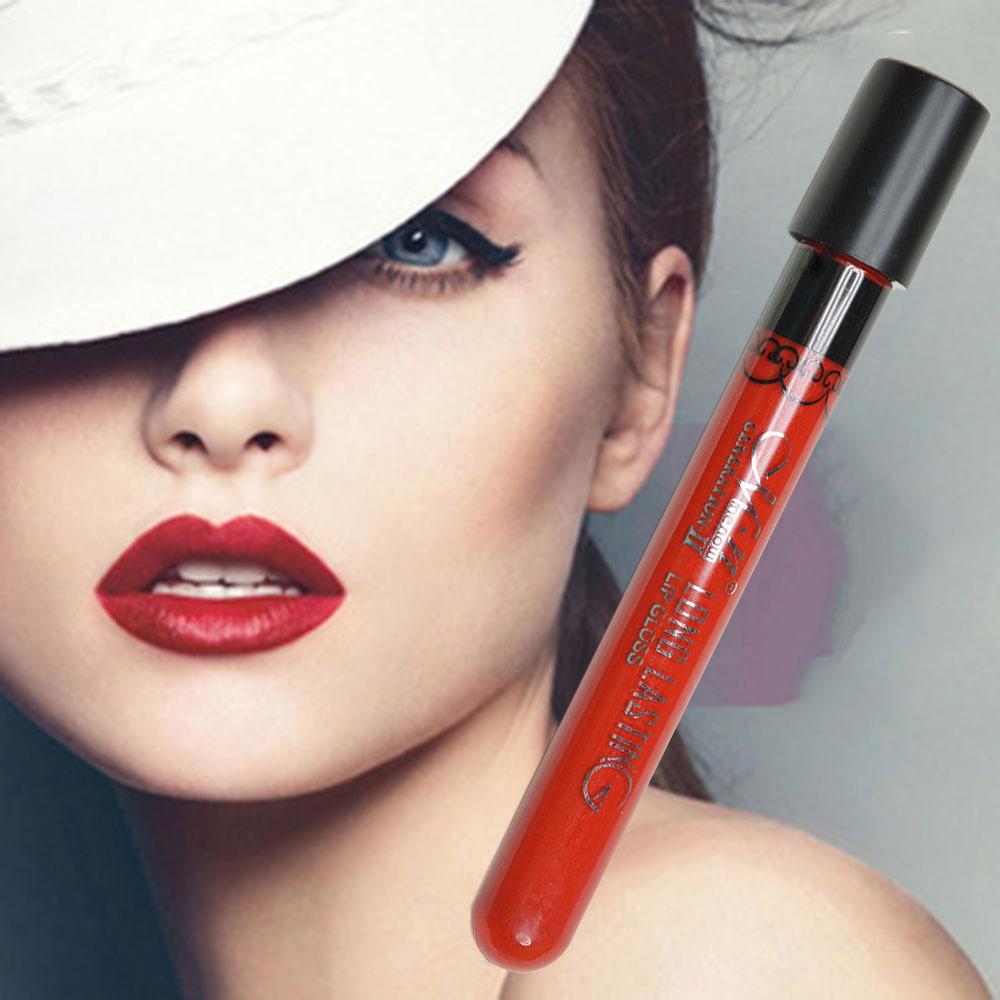 Lip Stick Lipgloss Moisture Matte Color Lipstick Long Lasting vitality Nude cerise star(China (Mainland))