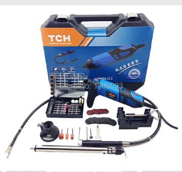 Briefcase electric drill 220v + 131 accessories.Multi-purpose electric grinder power tool kit. Free shipping!<br><br>Aliexpress