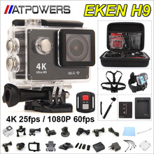 Original EKEN H9 / H9R remote  Action camera Ultra HD 4K WiFi 1080P/60fps 2.0 LCD 170D lens Helmet Cam go waterproof pro camera(China (Mainland))
