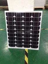 40w mono solar panel free shipping solar panel 12v solar panel  A grade solar cell 25 year free maintenance