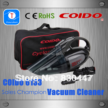 Lada Kalina Car Aspirador Coido 6133 Vacuum Cleaner Dust Collector Dual Function with Double Filter And Super Strong Suction 12v