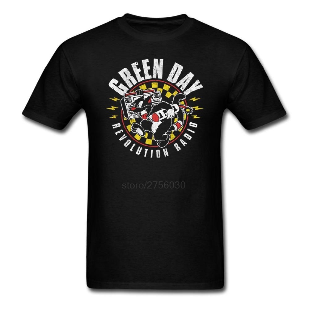 GREEN DAY revolution radio T shirt Men Women tee Short Sleeve Tshirts Asian size S~XXXL(China (Mainland))