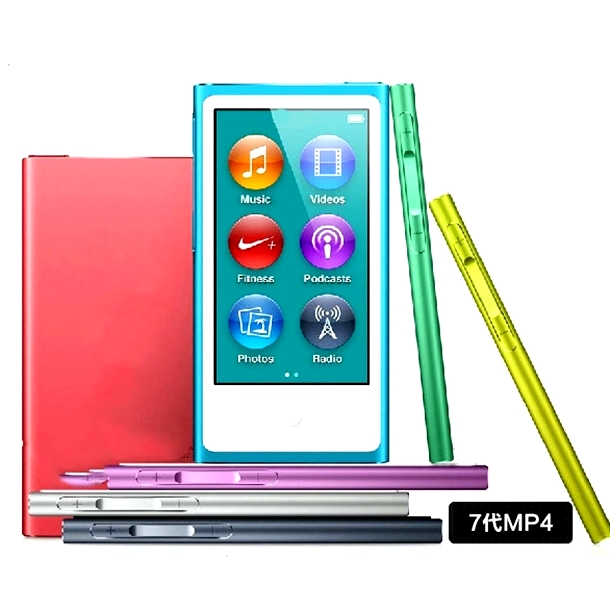Фотография 100% original for iPod nano 7th Generation touch screen 32gb film music MP3/5 PLAYER A variety of language