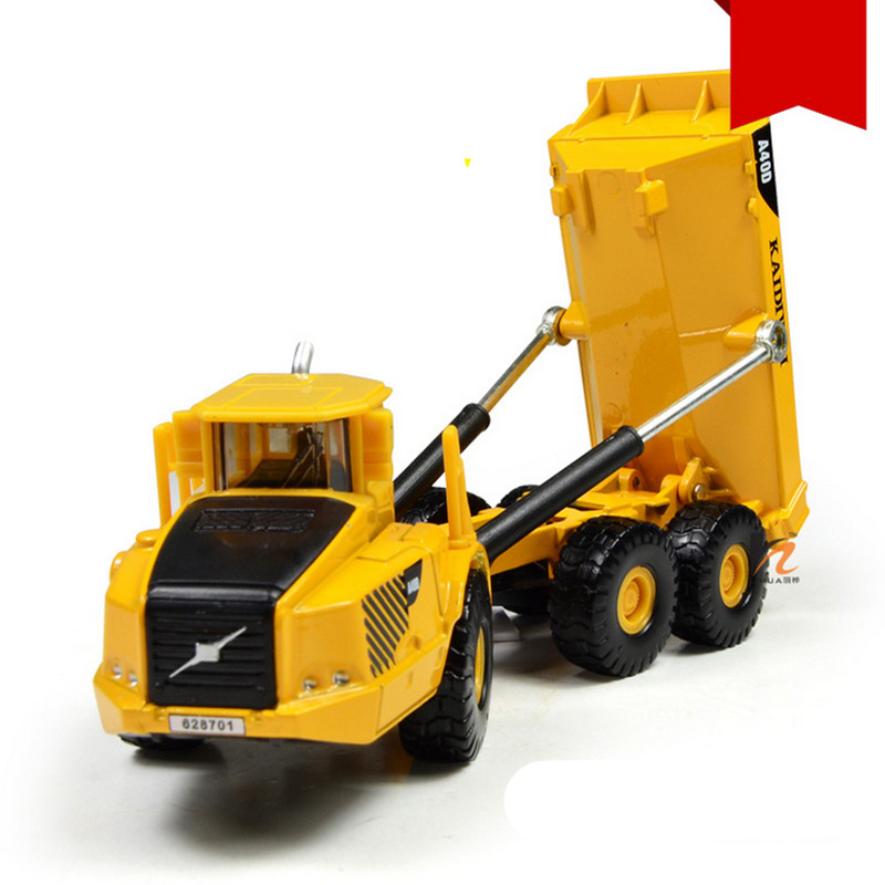 2016 1:87 Alloy Heavy Forklift Metal Dump Truck Kids Toys Classic Brinquedos Toys For Child(China (Mainland))