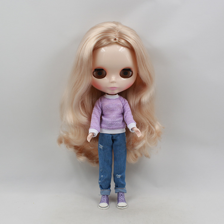 Factory Blyth Doll Nude Doll 230BL3139 Long Curly Wavy
