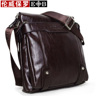 Hot sale!! New fashion LENWE BOLO genuine leather men shoulder bag men messenger bag,business bag leisure bag,free shipping(China (Mainland))