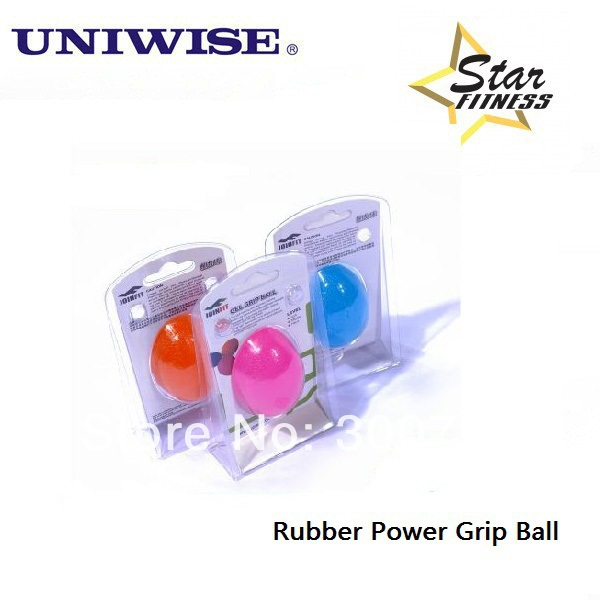 Rubber Power Grip Ball Exercise Hand Grip Fitness Ball Free Shipping!(China (Mainland))