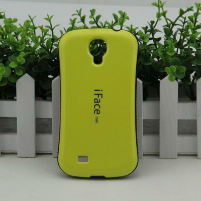 iFace coque Candy Color case Samsung galaxy S4 mini i9190 Hard fundas TPU+PC Shockproof Cover dropproof shell