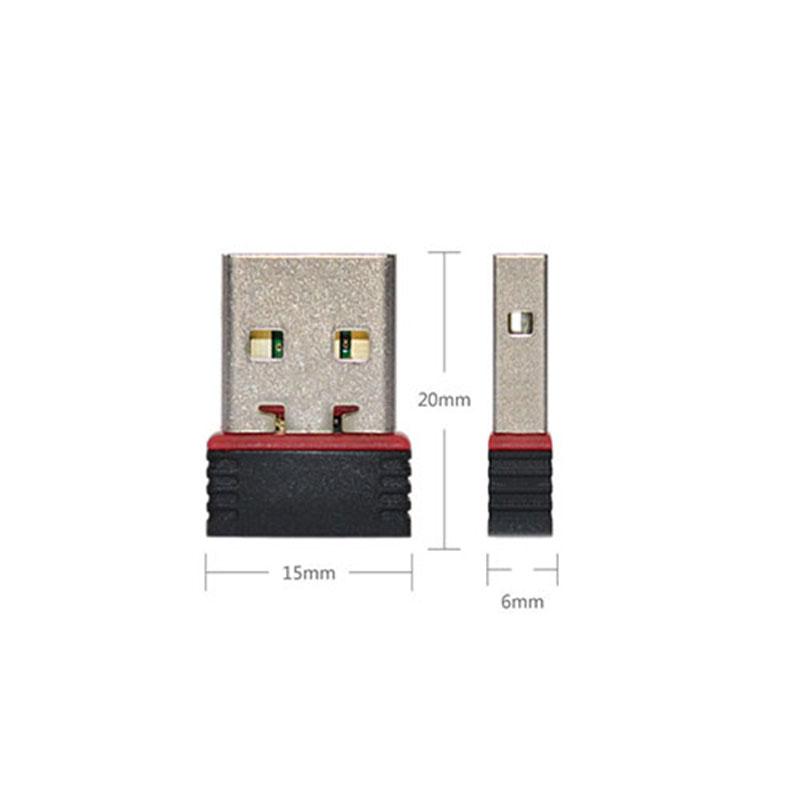 free shipping Ralink RT5370 MINI USB 2.0 WIFI Adapter USB 2.0 to Wireless LAN Network Card Adapter WiFi 802.11N/G/B 150Mbps(China (Mainland))